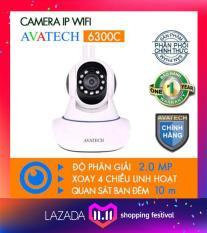 Camera IP AVATECH 6300C Full HD 1080P Trắng