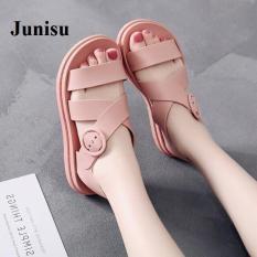 [Junisu] sandal đi mưa êm chân – 3 màu cá tính