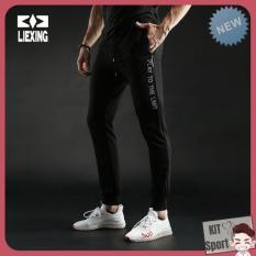 Quần dài thể thao nam Y7028 LieXing – Cửa hàng phân phối KIT Sport – Hàng nội địa Trung(Men Pants, đồ tập quần áo gym,mẫu Jogger rộng, thể dục,thể hình, Fitness)