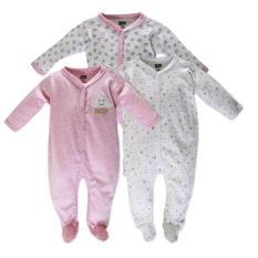Set 3 áo liền quần có tất Baby Gear cho bé gái ( mẫu MÂY)