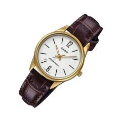 Đồng hồ nữ dây da Casio Anh Khuê LTP-V005GL-7BUDF