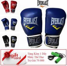 Găng Tay Đấm Boxing EverLats – VivaSports – Tặng Kèm 1 Dây Nhảy