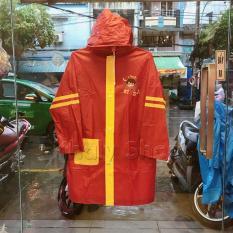 Áo mưa hình Harry Potter Chibi màu đỏ đô viền vàng dành cho trẻ em , học sinh và các bé có nhiều size (S,M,L) (Thái Lan) – 300PVCHARRY249