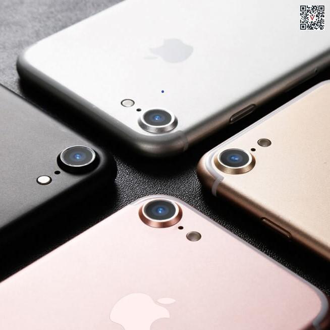 Bộ Kính Cường Lực Và Viền Hợp Kim Bảo Vệ Camera Cho IPhone 7 / 8 giá RẺ