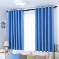 Rèm cửa trang trí – rèm vải cao cấp – Họa Tiết Ngôi Sao Xinh HYJ01