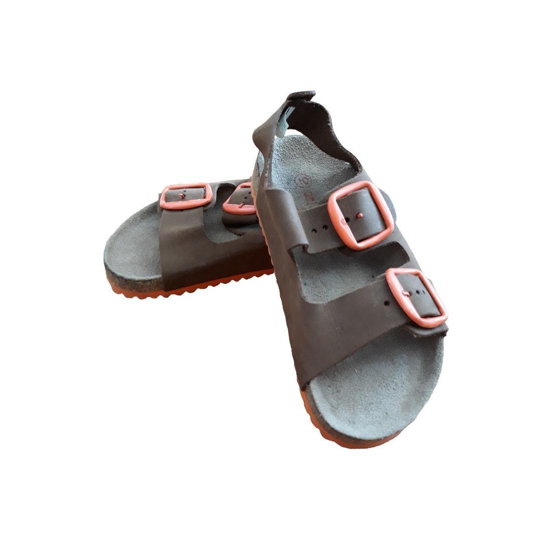 Giày sandal bé trai da bò VKevin GIGA