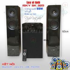 Loa vi tính ISky SK-325 – Bass cực mạnh – Kết nối bluetooth, jack 3.5, USB, thẻ SD