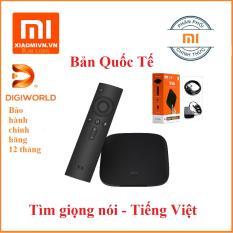 Android Tivi Box Xiaomi Mibox 3 4K Global Quốc Tế Tiếng Việt ( Phân phối chính hãng)