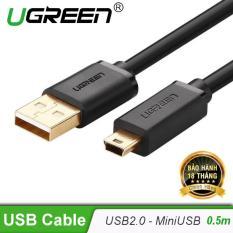 Dây USB 2.0 sang Mini USB mạ vàng 2M UGREEN US132 30472 – Hãng phân phối chính thức