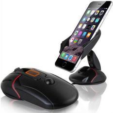 Giá đỡ điện thoại đa năng xoay 360 độ hình chuột máy tính cao cấp F239 (Đen)