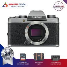Máy Ảnh Fujifilm X-T100 Body – Hàng phân phối chính hãng + Thẻ nhớ 16Gb + Túi máy ảnh + Dán màn hình