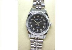 Đồng hồ nữ Halei 365 màu trắng mặt đen cực chất