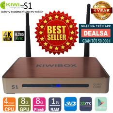 Android Tivi Box Ultra HD Kiwi S1