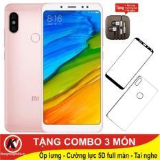 So sánh giá Xiaomi Redmi Note 5 Pro, Note5 Pro, Note5Pro 64GB Ram 4GB Kim Nhung + Ốp lưng + Cường lực full màn hình 5D + Tai nghe Kim Nhung Mobile