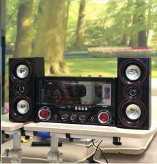 Dàn âm thanh tại nhà – loa vi tính cỡ lớn hát karaoke có kết nối Bluetooth USB Isky – SK335U 2.1 Tặng kèm Mic hát