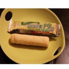 Bánh cuộn giòn dinh dưỡng 12 loại ngũ cốc