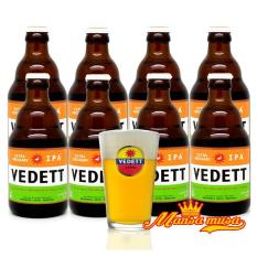 Séc 8 chai Bia Bỉ VEDETT EXTRA 5,5% ( 330mml)