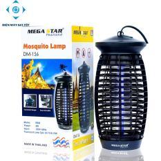 Đèn diệt côn trùng Mega Star DM136 (Đen) – Hàng nhập khẩu