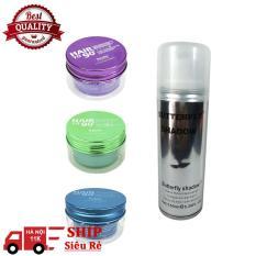 Sáp vuốt tóc Kanfa Hair To 90 Wax 100ml + Gôm xịt tóc bạc 150ml