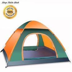 Lều cắm trại chống nước tự bung dành cho 4-6 người cỡ chuẩn 2mx2m