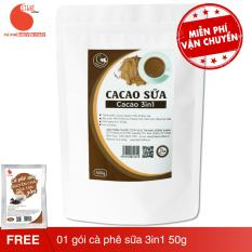 Cacao 3in1 nguyên chất 100% – Light Cacao – 500gr