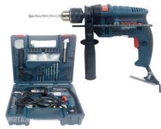 Máy khoan động lực Bosch GSB 13RE Valy 100 món