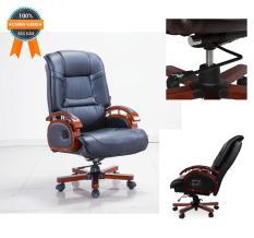 Ghế giám đốc nhập khẩu Mina Furniture MN-G336 (Đen)