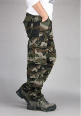 Quần Túi Hộp Kiểu Lính rằn ri QH 11.7(nâu xanh)