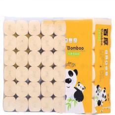 Bịch 36 cuộn giấy ăn gấu trúc siêu dai không chất tẩy trắng.