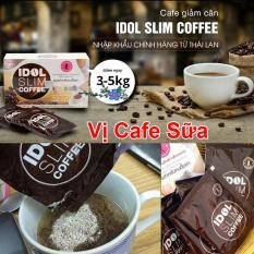 Cafe giảm cân Thái Lan Idol Slim Coffee, vị cà phê sữa – Giảm cân trong 7 ngày ( Có hướng dẫn phân biệt cà phê giảm cân Idol Slim thật và giả)