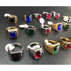 nhẫn mỹ thời trang , đẹp không bay màu giá sỉ, size 9 10