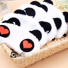 Bịt mắt – Combo 5 Tấm Che Mắt Ngủ Hình Gấu Panda