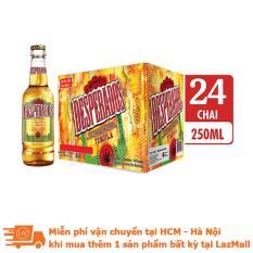 Thùng 24 chai bia Desperados hương vị Tequila 250ml