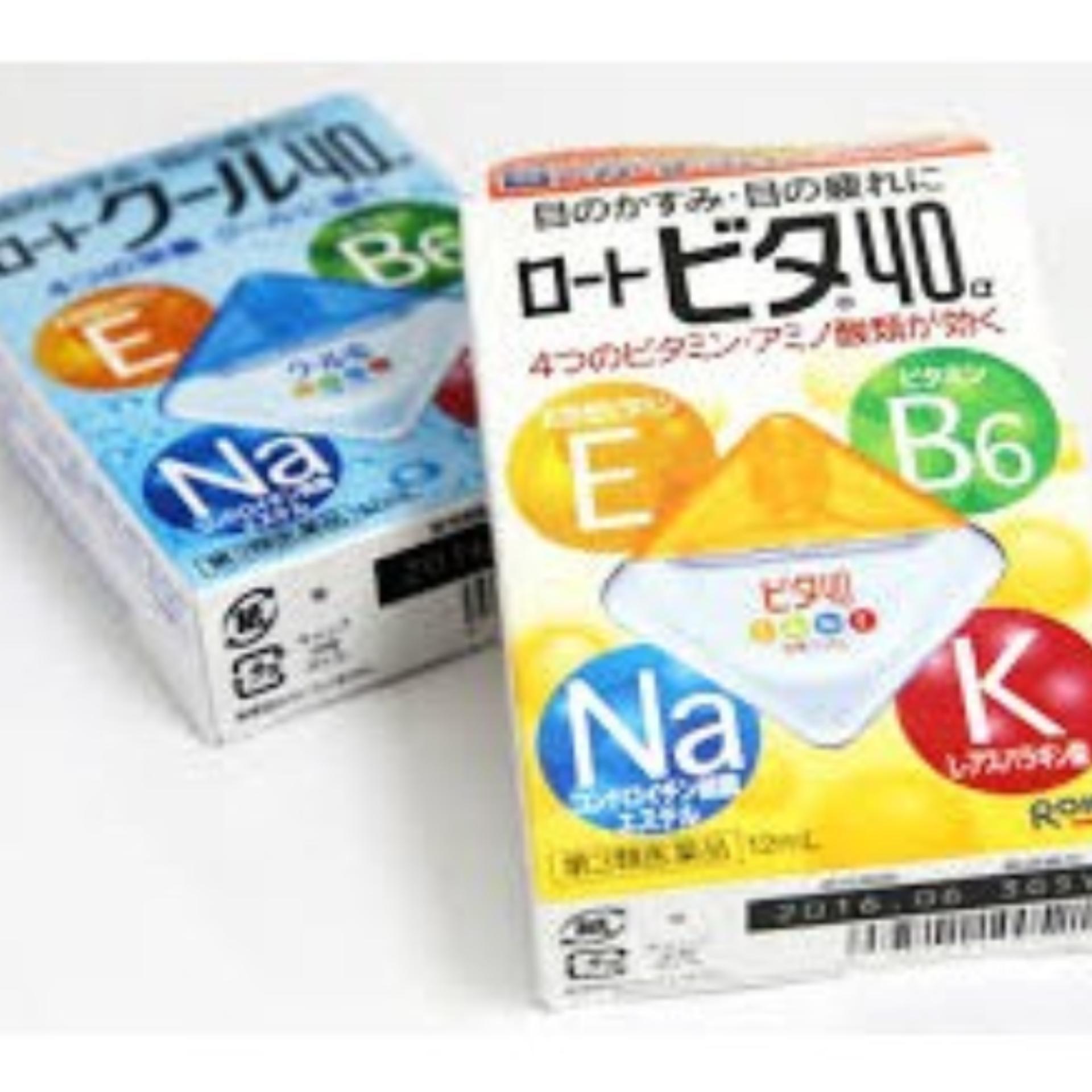 Thuốc Nhỏ Mắt Rohto Nhật Bản