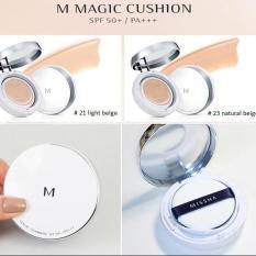 Phấn Nước siêu kềm dầu, che phủ tốt Missha M Magic Cushion Cover SPF50+ Pa+++