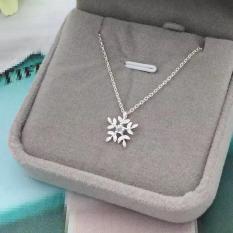 Dây Bạc Nữ Bông Hoa Tuyết M-1569 Bảo Ngọc Jewelry