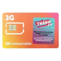 SIM 4G VietnamMobile Tặng 120GB mỗi Tháng̣ max data không cần nạp tiền.Tặng ngay 20k trong tài khoản chính.