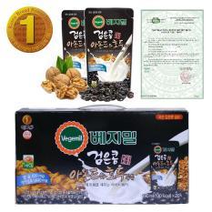 Sữa đậu đen óc chó hạnh nhân Vegemil Hàn Quốc xách 20 túi ( 190ml/túi )
