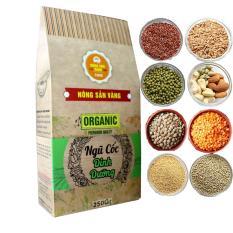 Bột ngũ cốc nguyên chất 250gr – Bột ngũ cốc tăng cân, giảm cân, lợi sữa nông sản vàng