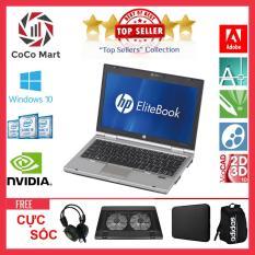 Laptop HP EliteBook 2560p Chạy CPU i7-2620M, 12.5inch, 16GB, SSD 120GB + Bộ Quà Tặng – Hàng Nhập Khẩu