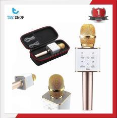 Mic Hát Karaoke Kiêm Loa Bluetooth 3in1 Q7 U thế hệ mới