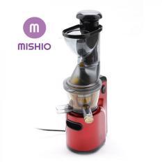 Máy Ép Trái Cây Mishio Slow Juicer Đỏ 2018