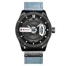 ĐỒNG HỒ NAM CURREN 8001 DÂY DA CAO CẤP +tặng pin đồng hồ