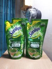 Nước rửa chén Sunlight extra trà xanh Nhật Bản 550g (Hàng tặng)