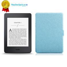 Máy đọc sách Kindle Paperwhite (7th) và Bao da Vân (Màu Xanh Ngọc)
