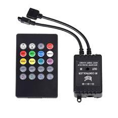 Bộ điều khiển led dây 5m RGB đổi màu theo âm thanh – Led music controller