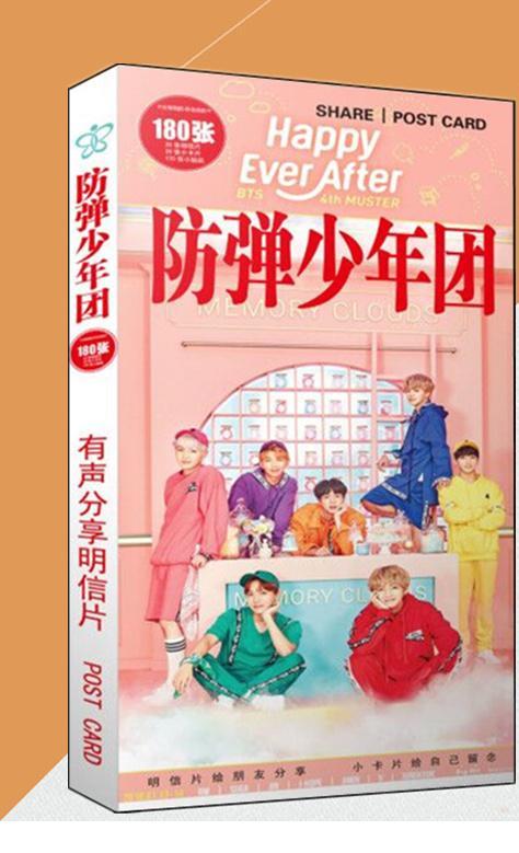 Hộp postcard BTS