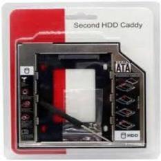 Khay gắn HDD/SSD cổng DVD – Caddy Bay SATA gắn thêm ổ cứng cho Laptop 12.7mm HC(Dày)