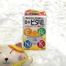 Thuốc nhỏ mắt Rohto Vita 40 Nhật Bản 12ml (màu vàng)