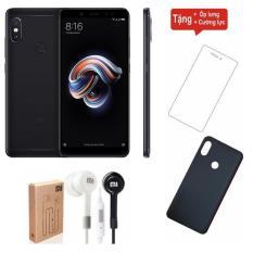 Xiaomi Redmi Note 5 Pro 32GB Ram 3GB (Đen) + Cường lực + Ốp lưng + Tai nghe – Hàng nhập khẩu